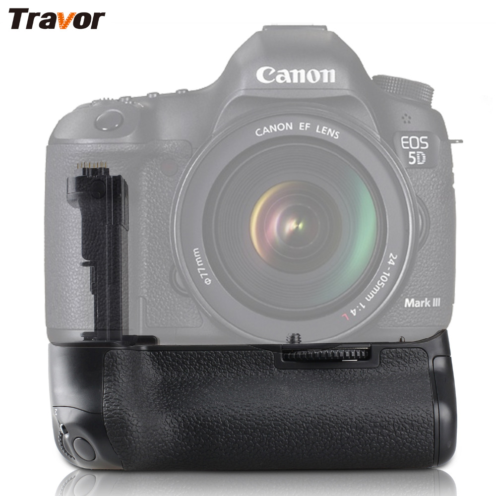 Travor Professional Battery Grip for Canon BG-E11 BGE11 EOS 5DIII 5D3 5D Mark III 3 as BG-E11 батарейный блок для фотокамеры travor bg e11 canon eos 5 d mark iii 3 dslr lp e6