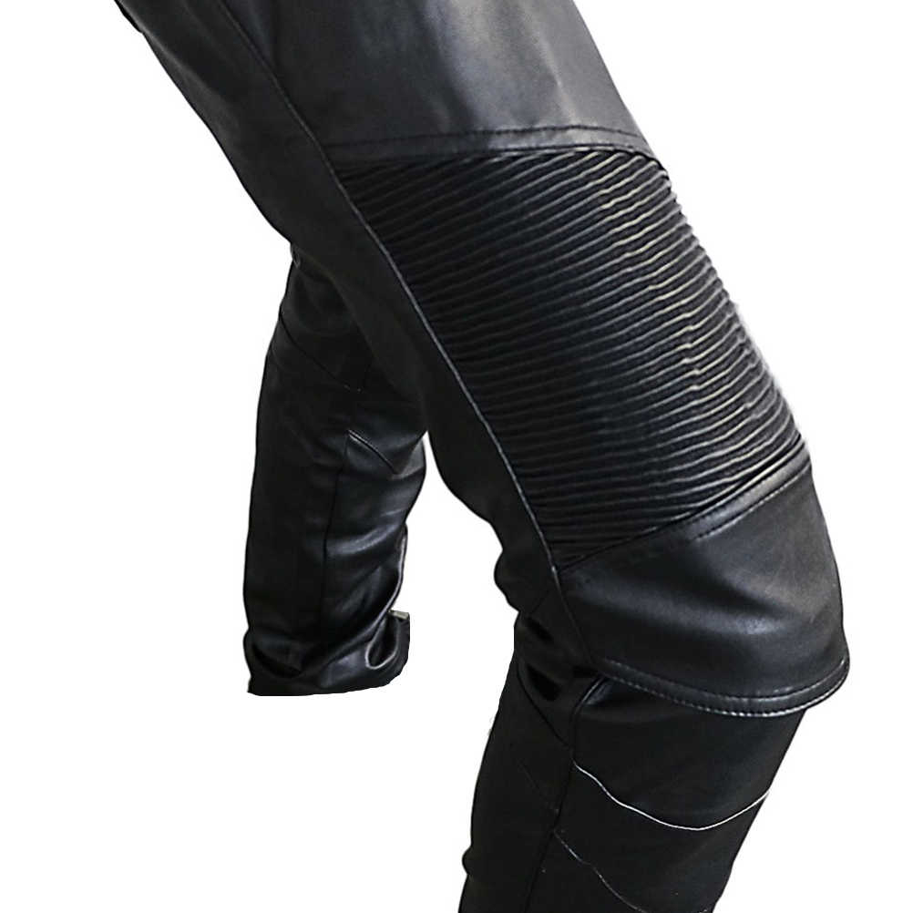 Corse di Motocross Pantaloni Moto Pantaloni di Cuoio DELL'UNITÀ di elaborazione del Motociclista Pantaloni per le Donne Degli Uomini Moto Moto A Cavallo Con 4 x CE Ginocchio hip Pad