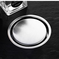 304 stainless steel bathroom invisible floor drain cover toilet shower room insect proof floor drain odor proof circular