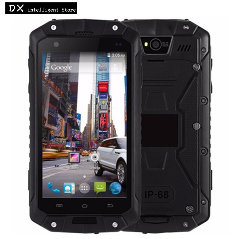 GuoPhone Land Rover V9 IP68 Водонепроницаемый 4,5 смартфон MTK6580 4 ядра 1 GB + 8 GB Android 5,1 8MP gps мобильный телефон 3G