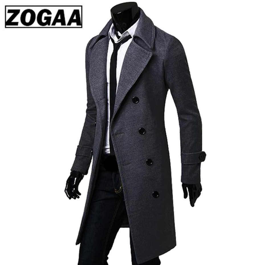 2018 новый мастер мужское шерстяное пальто куртка двубортная модель Для мужчин s пальто с длинным рукавом Для мужчин пальто зимнее Тонкий твердый мужской Тренч