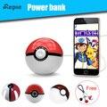 Горячие продажи Мило Magic Ball Power bank Pokeball Игрушки 12000 мАч Батареи зарядное устройство с СВЕТОДИОДНЫЙ Проектор Стенд для iphone 6 s 7 samsung xiomi