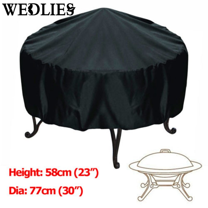 Ordinaire 76*58cm BBQ Patio Grill Cover Black Silver Waterproof Garden Rain Anti Dust  Proof Barbecue Party Shield Grill Protector In Tablecloths From Home U0026  Garden On ...