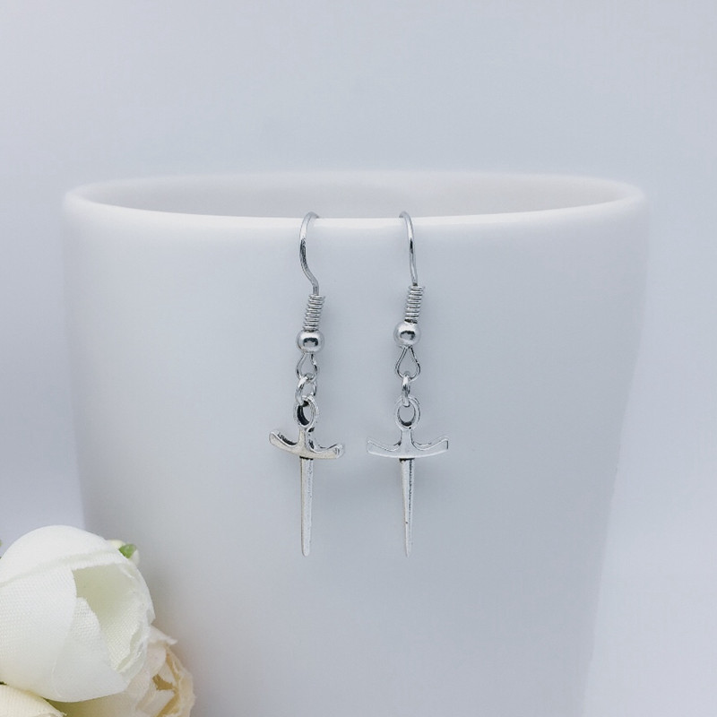 b06cfe6be Buy sword earrings and get free shipping on AliExpress.com