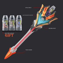 Ultraman Geed Sword of The King Transformation Light Up Model Toy LED Knight Music Kids Christmas Gifts Toys for Children 38cm ultraman orb sacred sword and spear dart which emits light and sounds is a children s like ultraman toy