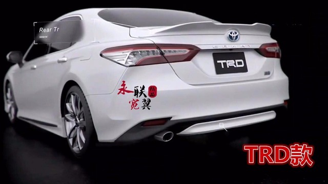 For Camry Trd Style Abs Material Spoiler Lacquer With Paint Auto