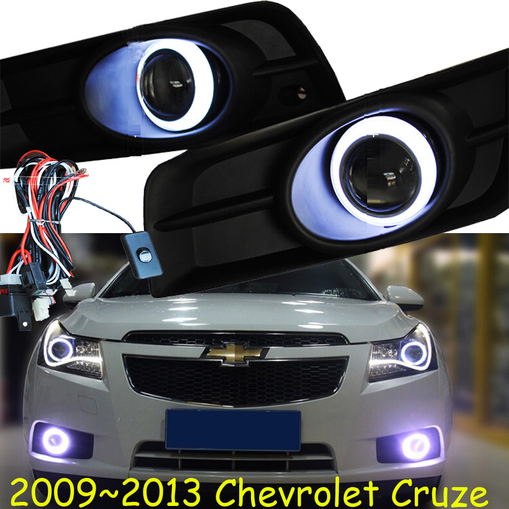 Chevrole Cruz daytime light,2009~2013/2015~2016;Free ship!LED,Cruz fog light,2ps/set;Cruz