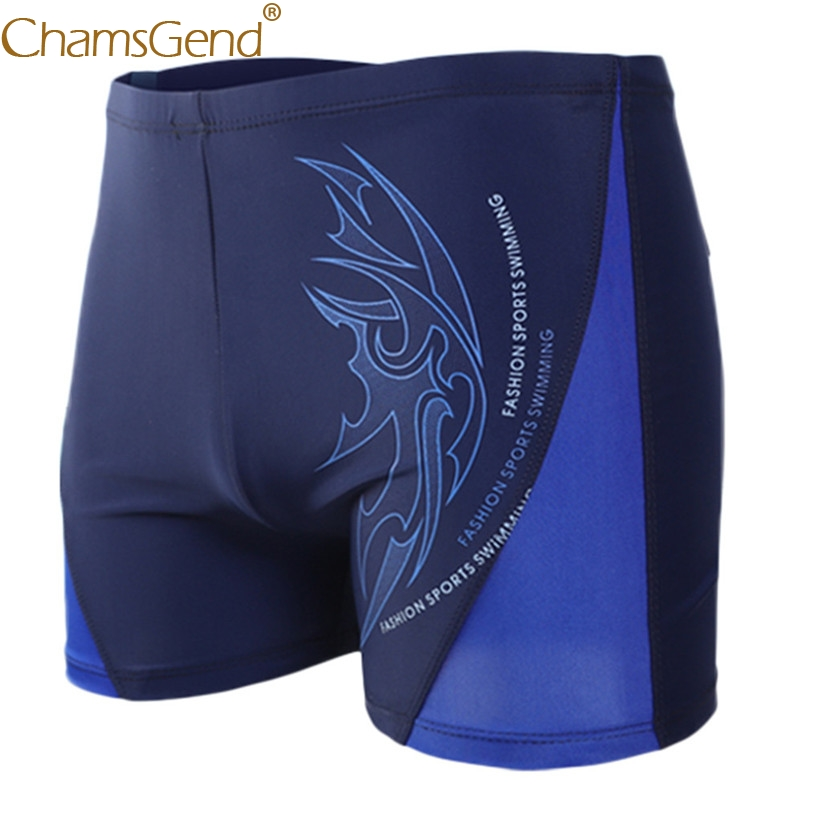 Sexy Men's Boxer Briefs Swimming Men's Shorts Swimming Swim Trunks Shorts Slim Sexy Swimwear Pants Quick Dry Board Shorts 90327