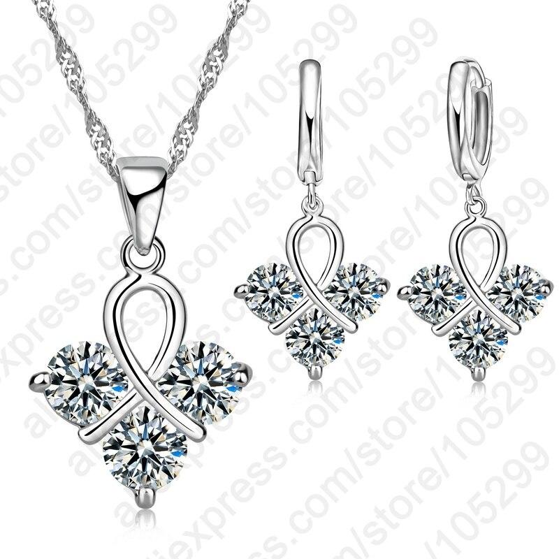 a6b1b000cab3 JEXXI Niza mujeres boda joyería 925 plata esterlina cúbicos Zircon cereza  forma colgante de joyería al por mayor precio de fábrica
