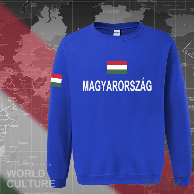 Hungary Hungarian hoodies men sweatshirt sweat new hip hop streetwear tracksuit nation footballer sporting country 2017 HUN HU 3