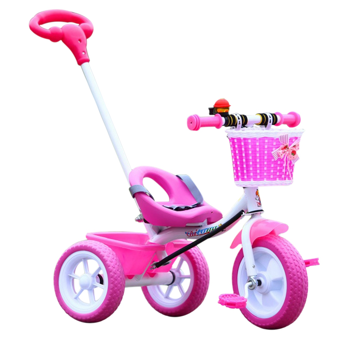 Baby Bicycle Trike Infant Tricycle Safety Pushchair ...