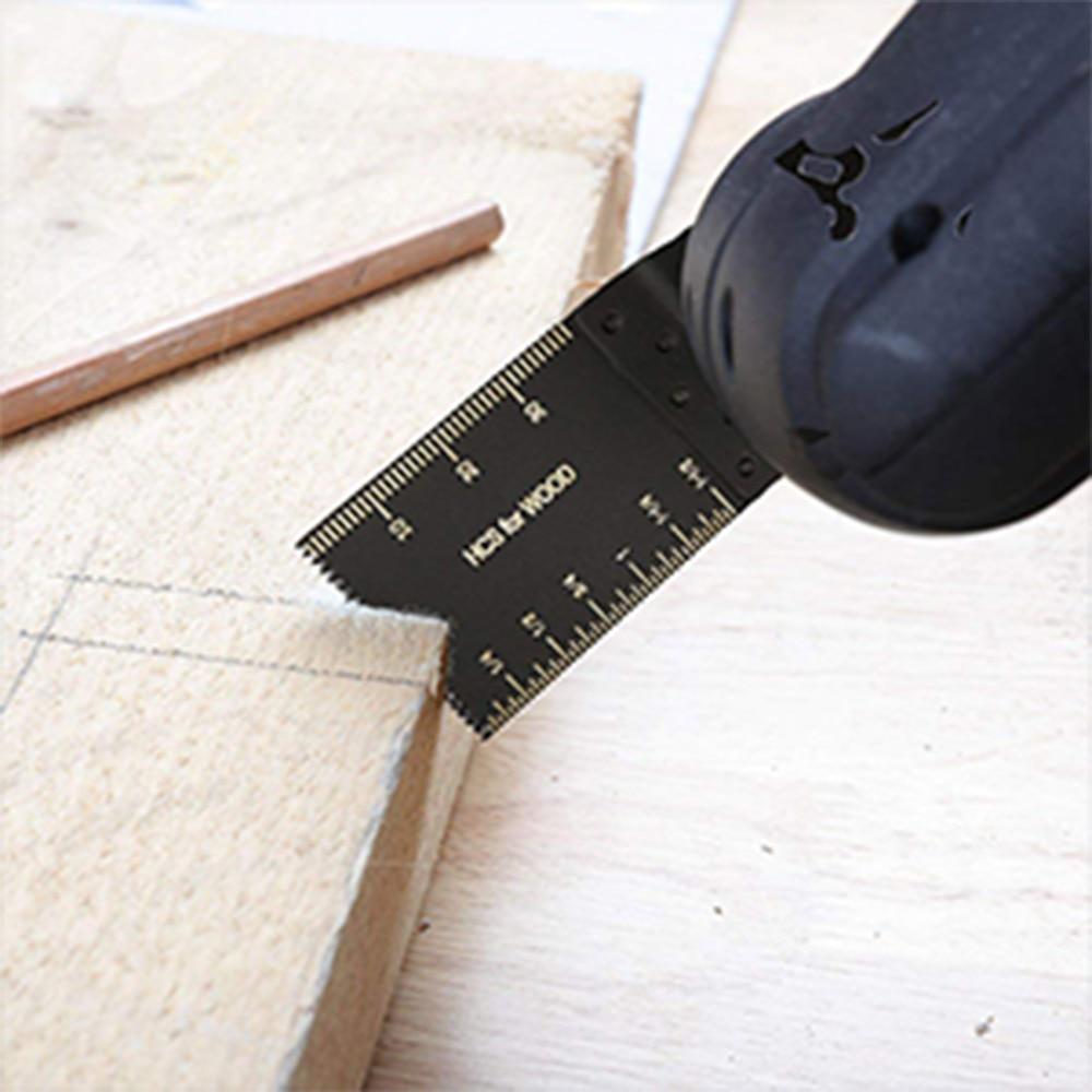 קרסים עופרות אביזרים וביגוד Multi-Function 20pcs Bi-מתכת המסור Precision Blade נדנוד Multitool להב המסור עבור PVC עץ קשה חיתוך Multi-Tools 29 (2)