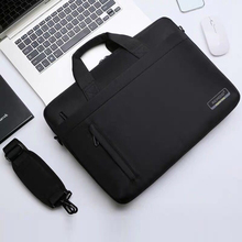 цены HOOWAN Large Capacity Waterproof Laptop Handbag for Men Women Nylon Office Bags Briefcase Notebook Bag for 14/ 15 Inch Computer