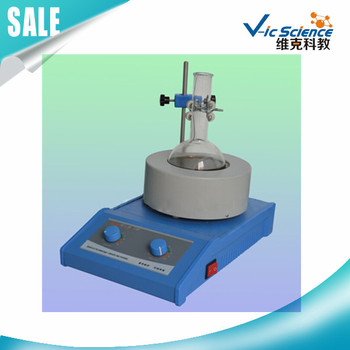 TWCL-T-250ml Temperature adjustable magnetic stirrer heating mantle