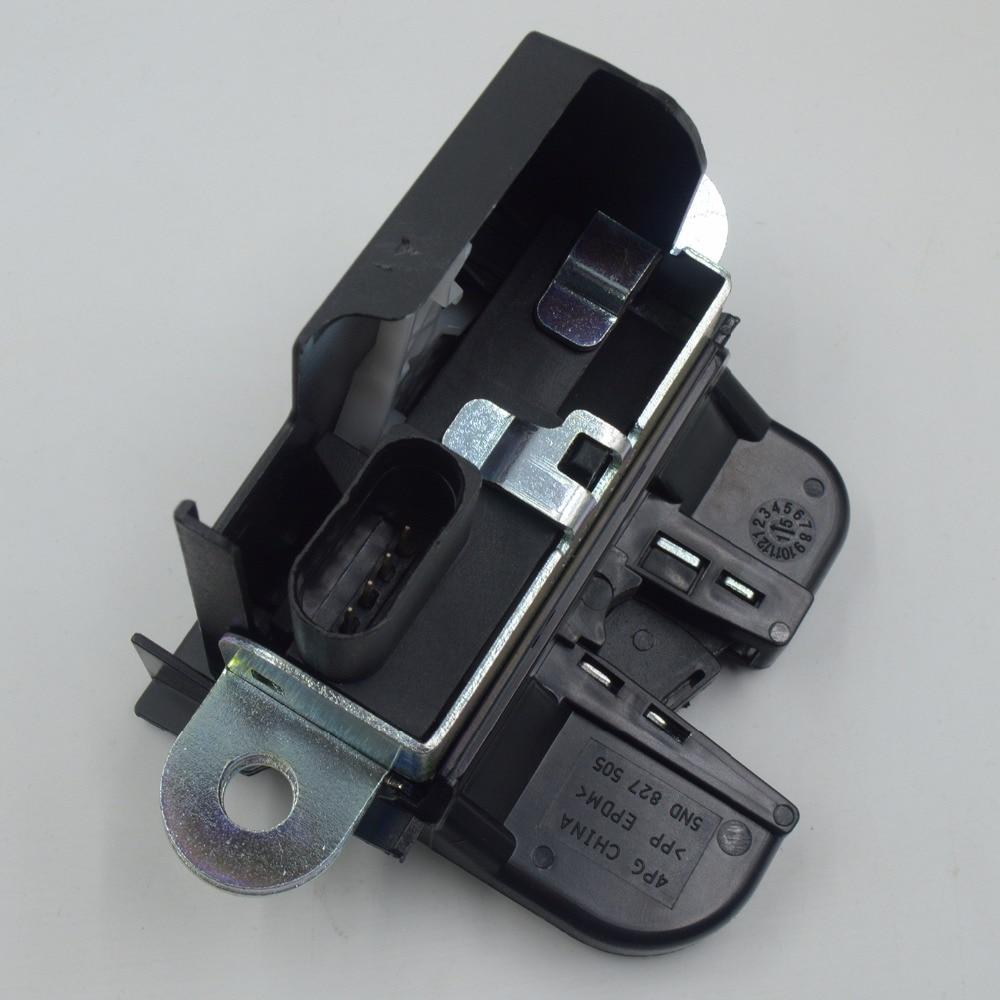 1T0827505H 5K0827505A 6RD827505 блок блокировки задней крышки багажника, защелка для Volkswagen VW GOLF GTI PASSAT POLO TIGUAN Touran