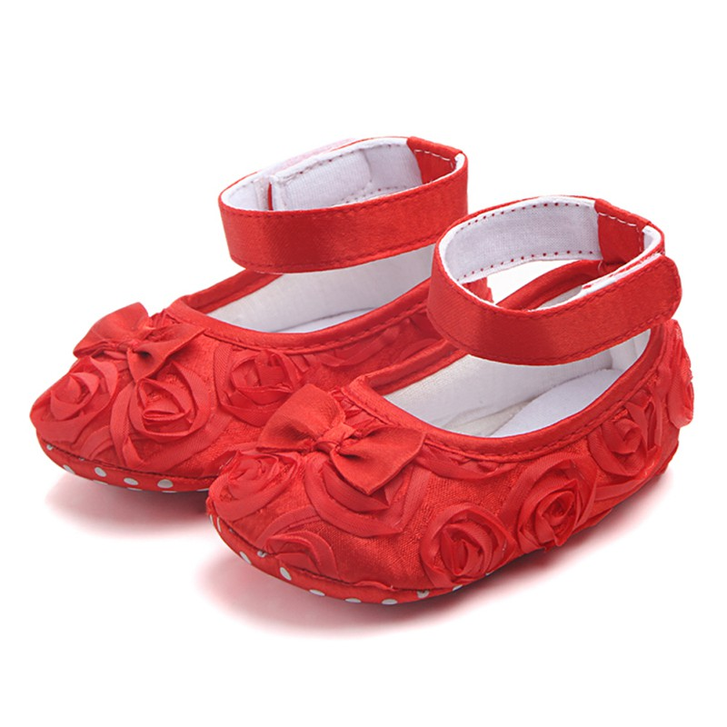 Toddler Shoes Anti-Slip Soft-Sole Girl Princess Cute Summer for Kids Baby Bow-Tie