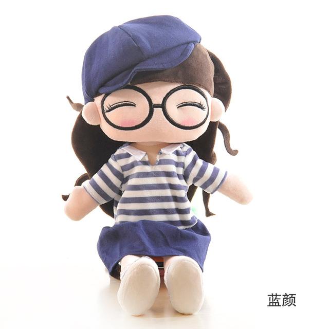 Hot estilo popular licenciado brinquedos de pelúcia justo jovem favorito da menina boneca de presente de aniversário original Muitas escolhas frete grátis