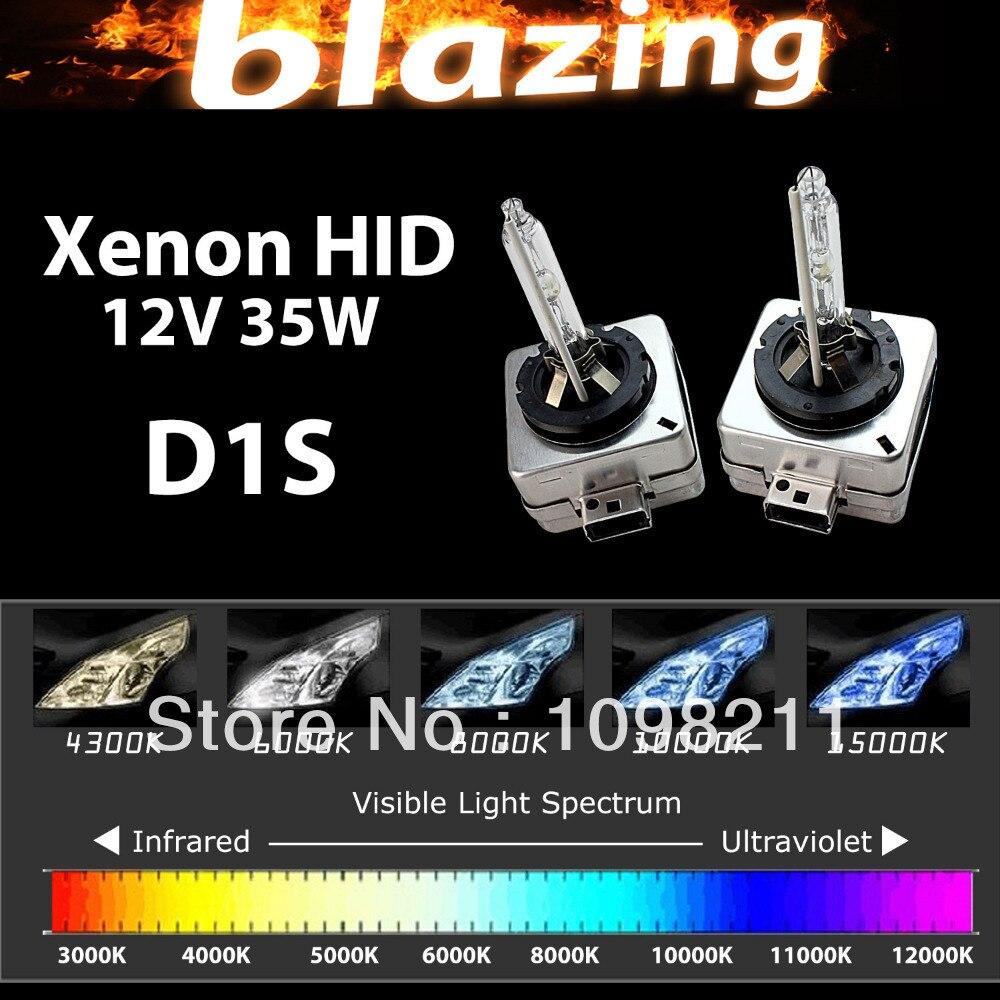 35W 12V HID XENON Replacement Bulb Car Light D1S D1C 3000K 43000K 5000K 6000K 8000K 10000K 12000K 15000K 30000K yy promation 35w d1 d1s d1c 6000k hid xenon light car headlight headlamp replacement bulb 4300k 5000k 8000k 10000k 12000k 30000k