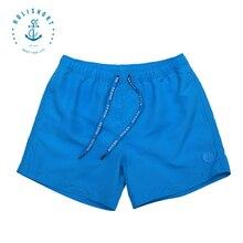 Покупки падение поло полиэстер твердые пляж случайные купальники шорты бренд мужские