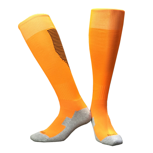 Adult Mens Volleyball Soccer Socks Sport Leggings Women Men Rugby Football Sock Above Knee Long Stockings Thicken Towel Socks