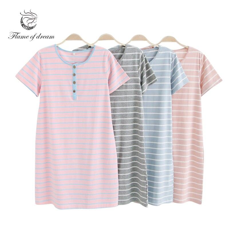 Women Night Dress Sleepwear Plus Size Nightwear Women Sleep Dress Women 8678