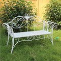 Fabricantes de ferro duplo cadeira de Metal ao ar livre de ferro duplo cadeira cadeira de lazer ao ar livre do jardim do metal banco do parque