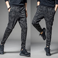 2017 NEW men casual camouflage pants print joggers men harem pants trousers hot sale plus size m-4xl