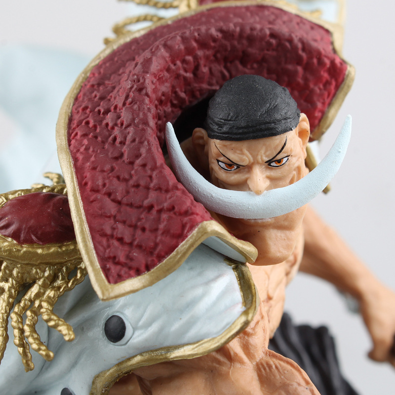 22cm Anime One Piece White Beard Action Figure Edward Newgate Doll PVC Figure Toys Onepiece Anime Figure Toys Japanese WX280