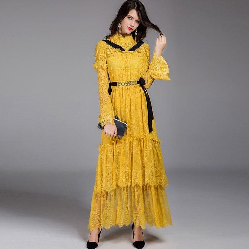 Popular Tiered Ruffle Maxi Dress-Buy Cheap Tiered Ruffle Maxi ...