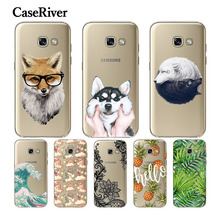 CaseRiver Soft TPU sFOR Samsung A5 2017 Case A520 A520F Cover Fashion Back Protective Phone sFOR Samsung Galaxy A5 2017 Case