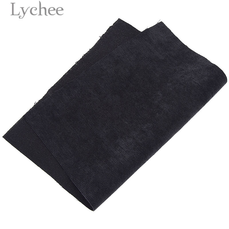 Lychee A4 Embossed Stripes Velvet Fabric Soft Sewing Fabric for Hair Accessories DIY Sewing Crafts Materials 6