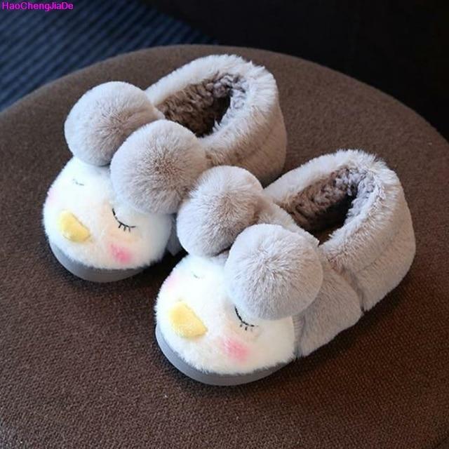76e22ad495a3 Haochengjiade Женские тапочки одежда Удобная хлопковая мягкая подошва дома  дети Крытый Спальня для маленьких мальчиков Дети