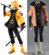 Наруто uzumaki Naruto ootutuki хагоромо Косплей костюмы на Хэллоуин