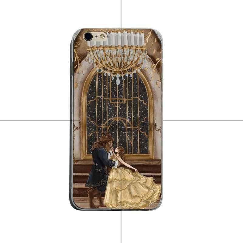 Yinuoda ความงามและ beast ขาย! หรูหรากรณีโทรศัพท์ Cool สำหรับ iPhone X XS XR XsMax 8 plus 6 6 วินาที 7 7 plus Mobilecover