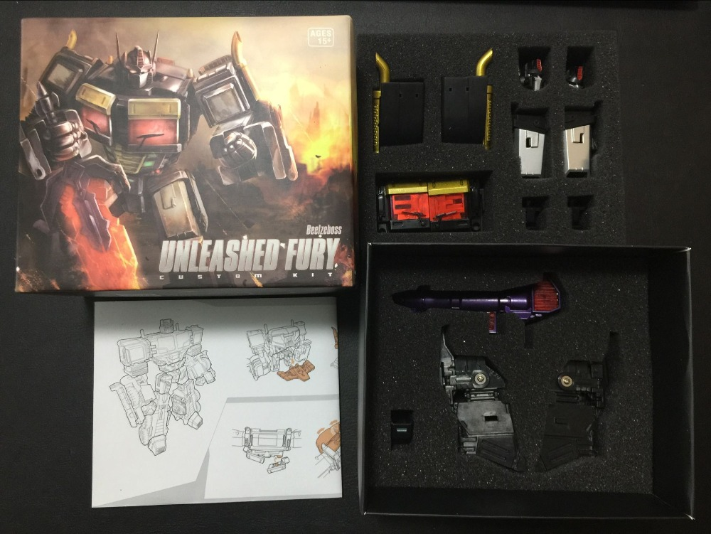Beelzeboss Unleashed Fury Upgrade Custom Kit - for IDW CW Grand Scourge,In stock! new in stock ve j61 cw