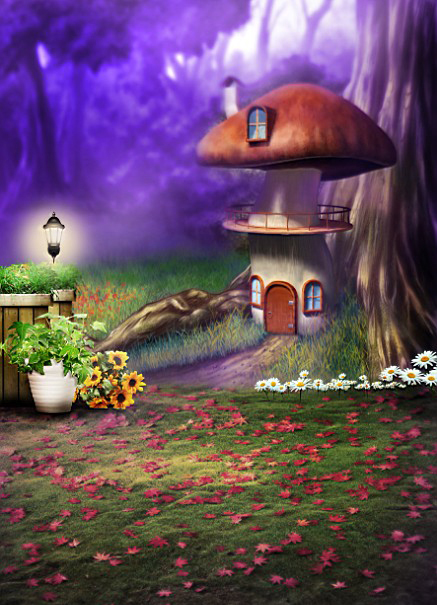 Mushroom House Design Philippines: Popular Cartoon Forest Background-Buy Cheap Cartoon Forest