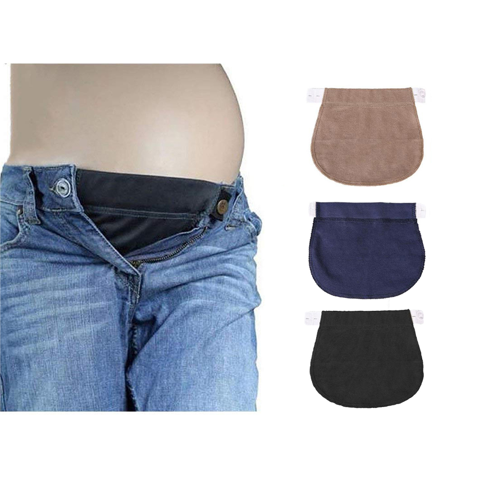 91d84fb2ec3b2 Fityle 6Pcs Maternity Belly Band Waistband Belt Elastic Waist Extender for Pregnant  Belly Bands Clothing