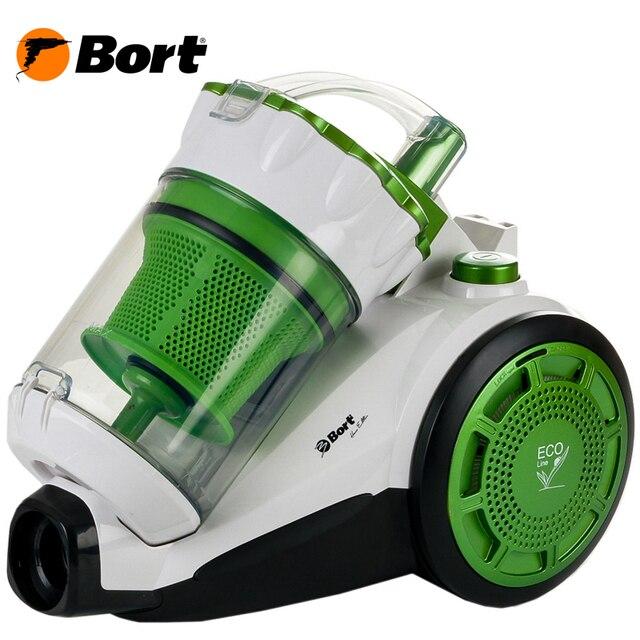 Пылесос Bort BSS-1800N-ECO (Мощность 1800 Вт, ультракомпактный, супертихий пылесос, технология мультициклон)