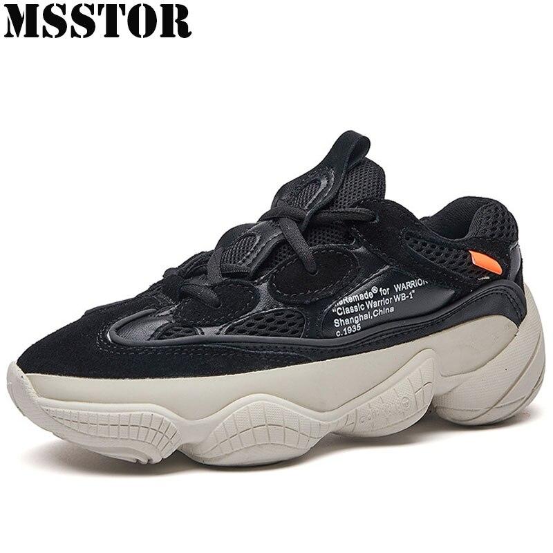MSSTOR 2018 для женщин мужчин кроссовки обувь с дышащей сеткой мужчин's спортивная мужская обувь брендовые спортивные прогулки Модные женские