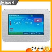 HT-CS01 Großen display Farb-touchscreen Raumthermostat Thermostat Fußbodenheizung Elektroheizung Thermostat 16A schalter