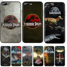 Handy Fall Silikon TPU für iPhone 7 8 6 6s Plus iPhone 11 Pro X XS Max XR 5 5s SE Abdeckung Jurassic Park Dinosaurier Welt Shell(China)