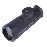 10X50 BAK4 Multi layer Coating High Magnification HD Zoom Mini Monocular Telescope for Travelling Hunting Camping