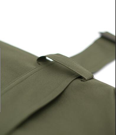 Automne Tempérament Green 4xl Lâche Manteau Manches Coupe Mince Cravate Épaule Long M Mode Grand Printemps Avec Chaude 2019 Femmes vent Nouvelle Army qdwZ1