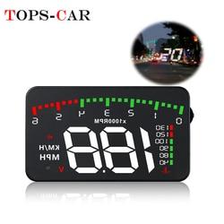 GEYIREN A900 автомобильный HUD OBD измеритель оборотов в минуту Автомобильный дисплей аксессуары мульти-дисплей Автомобильный цифровой двигатель ...
