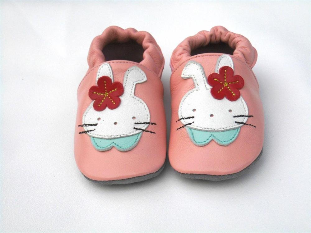 Стильные, гарантированные,, мягкая подошва, натуральная кожа, детская обувь/обувь для первых шагов - Цвет: Розовый