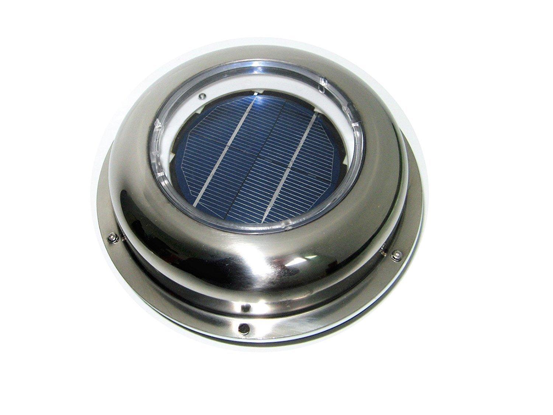 купить USA Stock Solar Powered Exhaust Roof Ventilador Fan Vent Ventilation Battery for Car Camper Canopy по цене 2702.9 рублей