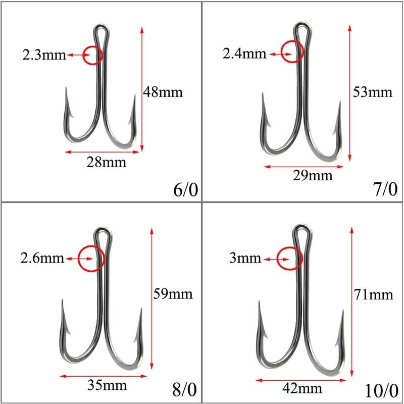 double hooks stainless steel