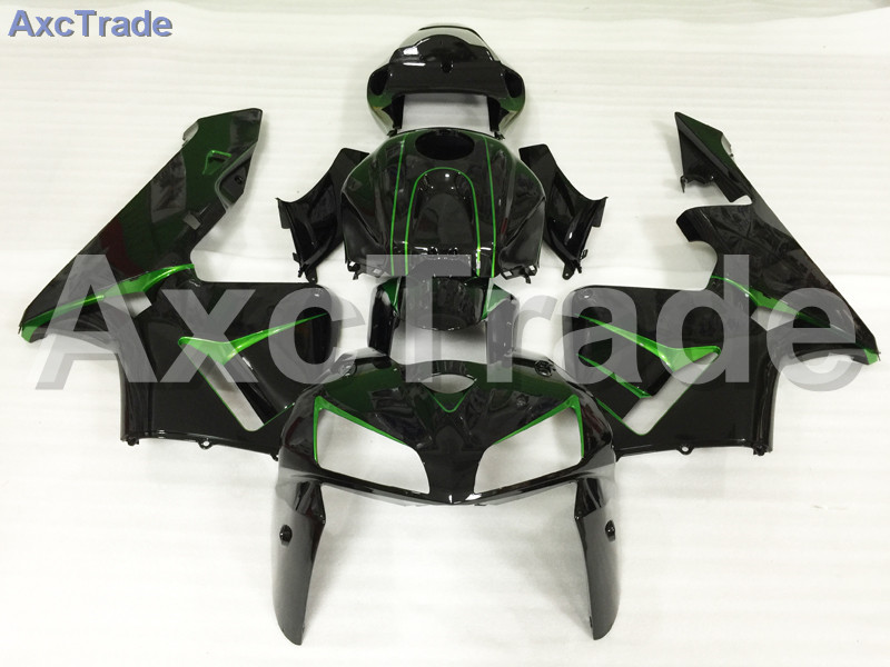 Motorcycle Fairings Kits For Honda CBR600RR CBR600 CBR 600 RR 2005 2006 F5 ABS Plastic Injection Fairing Kit Bodywork Black A597 abs injection fairings kit for honda 600 rr f5 fairing set 07 08 cbr600rr cbr 600rr 2007 2008 castrol motorcycle bodywork part