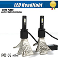 Super Bright! Pair Auto Car COB H1 Replacement LED Headlight Kit Bulb Single Beam 35W 3400lm 6000K 12V 24V Xenon White