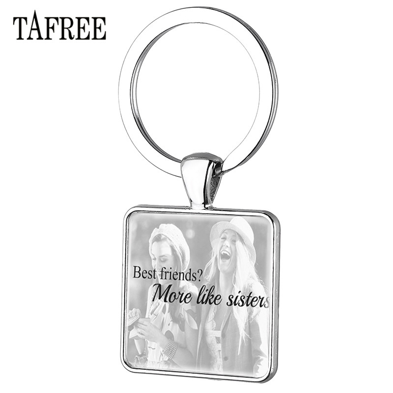 Mother Teacher Sister Best Friends Gifts Keyring Dog Paws Charm Keychain Jewelry